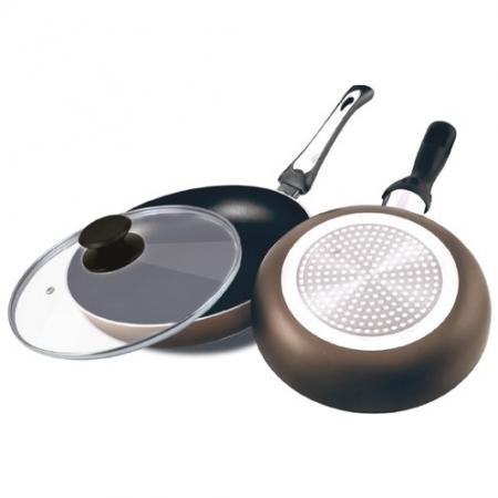 Сковорода LARA LR01-49 любко дереш трохи пітьми