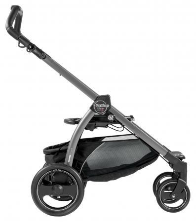 Шасси BOOK PLUS S, для модульных систем и прогулочных колясок, цвет Jet графит, Peg-Perego москитные сетки baby care star для прогулочных колясок