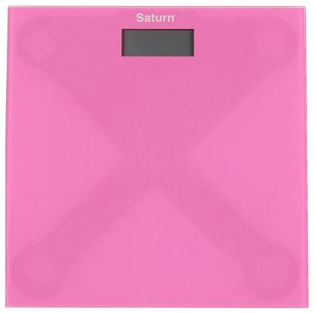 все цены на Весы напольные Saturn ST-PS 0294 Pink