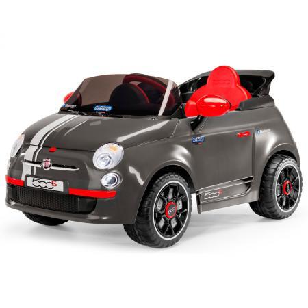 Каталка-машинка Peg Perego Fiat 500 пластик от 1 года на колесах серый ED1173