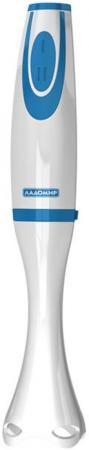 Блендер погружной Ладомир 432-5 200Вт белый синий блендер погружной ладомир 431 350вт синий красный