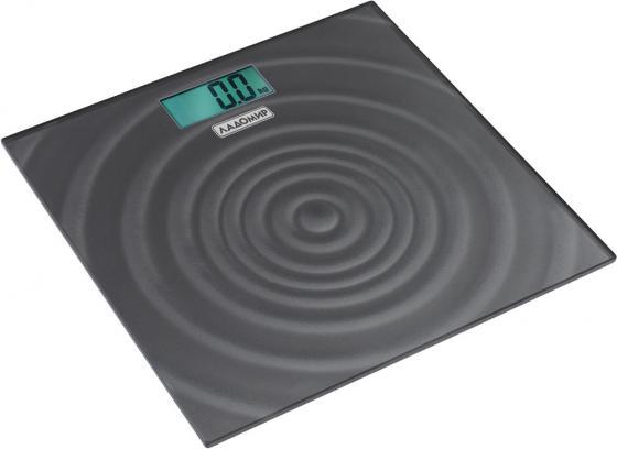 Весы напольные Ладомир НА104 серый рисунок кухонные весы ладомир на303
