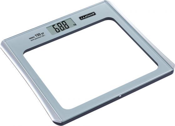 Весы напольные Ладомир НА106 серебристый кухонные весы ладомир на303