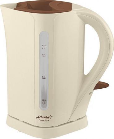 Чайник ATLANTA ATH-2303 чайник электрический atlanta ath 2303 бежевый