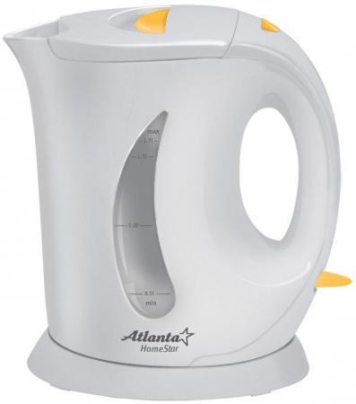 Чайник ATLANTA ATH-735 gray чайник atlanta ath 735 blue