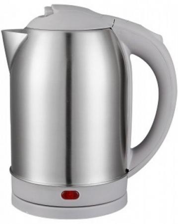 Чайник Чудесница ЭЧ-2029 1800 Вт серебристый серый 2 л металл/пластик чайник заварочный bekker 303 вк серебристый 0 9 л металл пластик