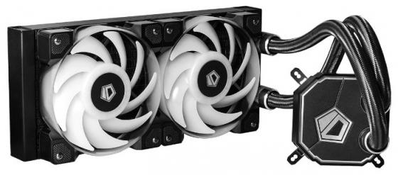 Комплект водяного охлаждения ID-COOLING DASHFLOW 240 LGA2011/1366/1151/50/55/56/AM4/FM2/+/FM1/AM3/+/AM2/+/ (6шт/кор,TDP 350W, RGB FAN and PUMP, PWM, DUAL FAN 120mm) RET m503 4581842 memory card connectors xd conn smt horiz normal