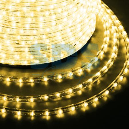 Дюралайт LED , постоянное свечение (2W), 36 LED/м, цвет: Золото, бухта 100м