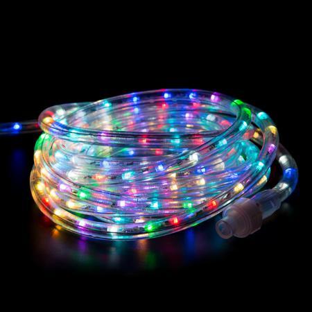 Дюралайт LED , свечение с динамикой (2W) - RGB O13мм, 36LED/м, 14м