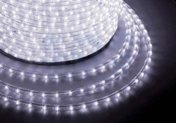Дюралайт LED, свечение с динамикой (3W) - белый, 36 LED/м, бухта 100м 720p waterproof cmos wireless wifi network surveillance camera w 36 led ir night vision