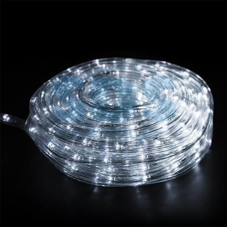 Дюралайт LED, свечение с динамикой (3W), 24 LED/м, белый, 6м diy 3w 3000k 315lm warm white light round cob led module 9 11v