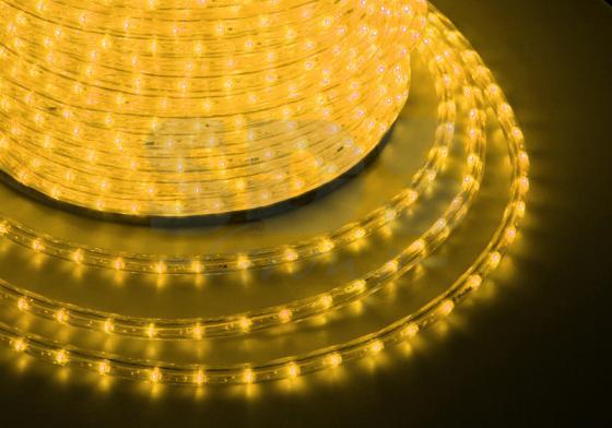 Дюралайт LED, эффект мерцания (2W) - желтый, 36 LED/м, бухта 100м бра colosseo susanna 80311 2w