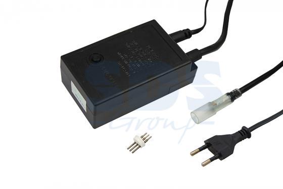 Контроллер для LED дюралайта 13мм, 3W, до 100м (иглы не в комплекте) муфта l коннектор для дюралайта led 3w 13мм