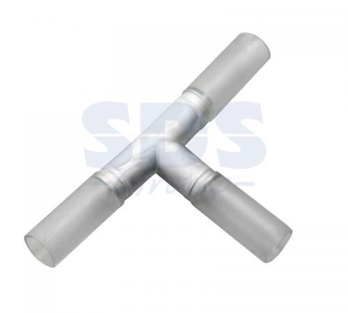 Муфта T - коннектор для дюралайта LED 3W ?13мм муфта l коннектор для дюралайта led 3w 13мм