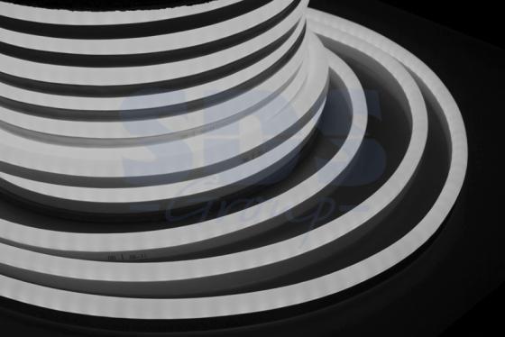 Гибкий Неон LED SMD, белый, 120 LED/м, бухта 50м неон найт 6x2 м led plrs 75 20 235 165