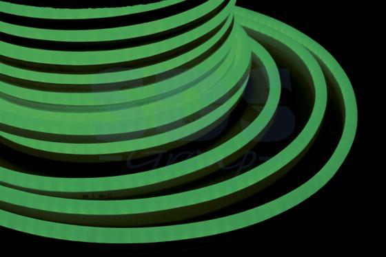 Гибкий Неон LED SMD, зелёный, 120 LED/м, бухта 50м jrled jr led 5050 smd 14 4w 500lm orange led luminous module white yellow dc 12v