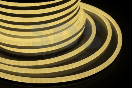 Гибкий Неон LED SMD, теплый белый, 120 LED/м, бухта 50м jrled jr led 5050 smd 14 4w 500lm orange led luminous module white yellow dc 12v