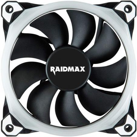 Вентилятор Raidmax NV-R120B RGB 120x120x25мм (60шт./кор, пит. от мат.платы и БП, 1200об/мин) (NV-R120B) Retail