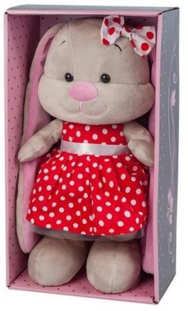 Мягкая игрушка заяц Jack Lin Зайка в Красном Платье 25 см искусственный мех трикотаж пластмасса игрушка мягкая jack lin зайка jl 003 25