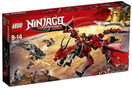 Конструктор LEGO Первый страж 882 элемента lego ninjago первый страж 70653