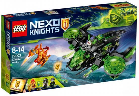 Конструктор 3D LEGO Неистовый бомбардировщик 369 элементов