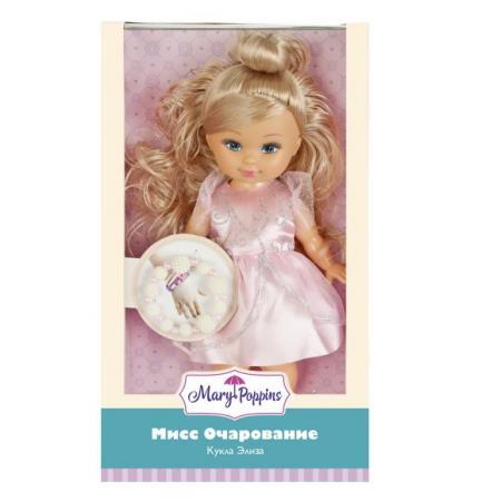 """Кукла Mary Poppins Элиза """"Мисс Очарование"""" с роз. браслетом 451212 mary poppins mary poppins кукла интерактивная приучаемся к горшку лизи"""