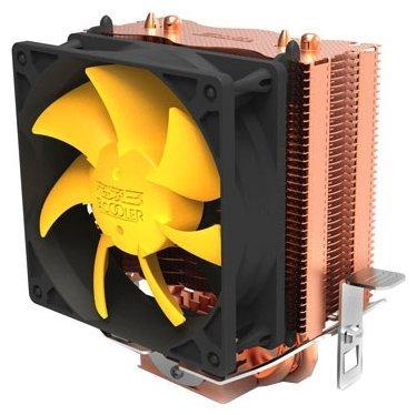 Кулер PCCooler S83 S775/115X/AM2/AM3/AM4/FM1/FM2 (48 шт/кор, TDP 90W, вент-р 80мм, 2 тепловые трубки 6мм, 2200RPM, 20dBa) Retail Color Box tlplmt8 replacement projector bare lamp for toshiba tdp mt8 tdp mt800 tdp mt8u