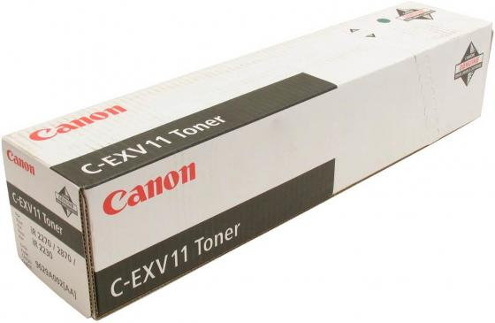Тонер Canon C-EXV11 для IR-2270/2870 черный mioshi ir 107 red mte1202 107к