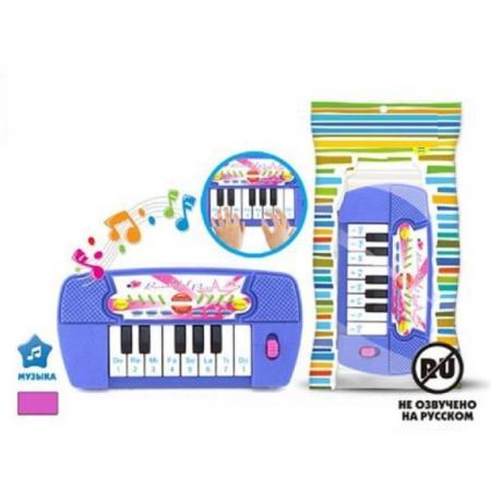 Синтезатор S+S TOYS 200221589 каталка s s toys динозавр 0360 разноцветный