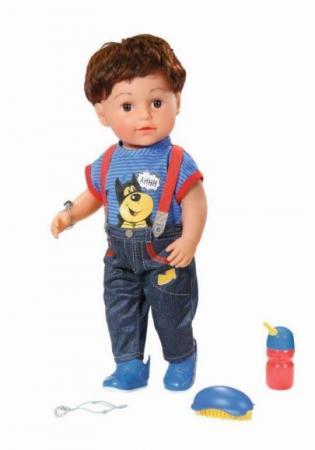Кукла ZAPF Creation BABY born Братик 43 см 825-365 кукла zapf creation baby born набор для празднования дня рождения 825 242