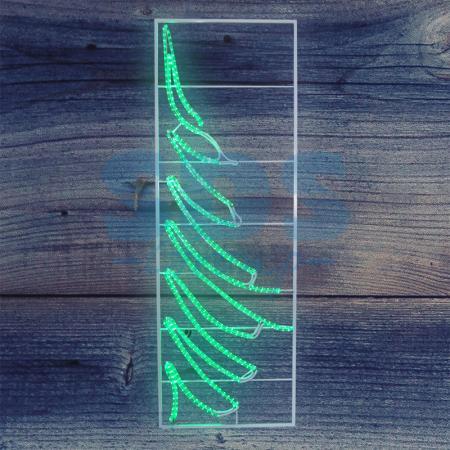 Фигура световая Елочка размер 200*68см NEON-NIGHT светящееся украшение neon night фигура шар 20cm 200 led blue 501 607