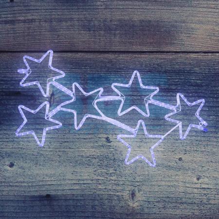 """Фигура световая """"Созвездие"""" размер 55*100см, свечение синее NEON-NIGHT световое панно neon night созвездие 501 355"""