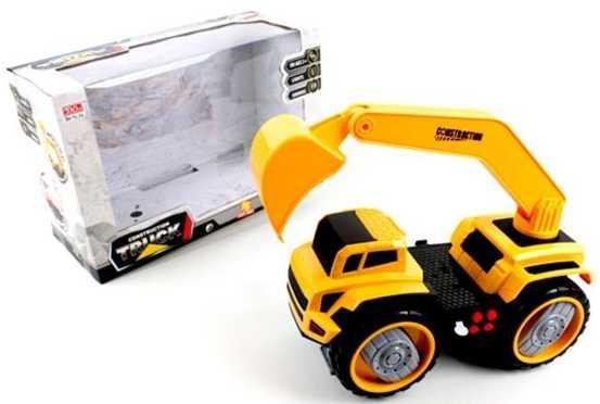 Грузовик Наша Игрушка Грузовик с ковшом желтый 6655-3 грузовик наша игрушка грузовик оранжевый 11579 1