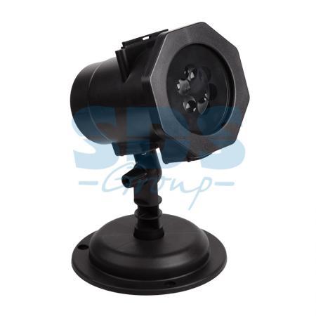 Фото - LED проектор, 12 сменных слайдов, цвет RGBW, 12В 601-262 проектор