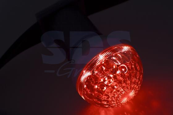 Лампа шар e27 10 LED O50мм красная 24В ozcan лампа timon 60 красная