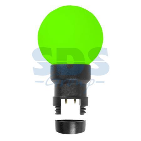 Лампа шар 6 LED для белт-лайта, цвет: Зелёный, O45мм, зелёная колба зелёный цвет 3 6 months