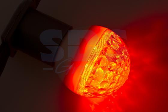 Лампа светодиодная шар NEON-NIGHT 405-212 E27 3W 9 LED, O50мм красная