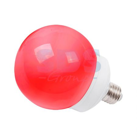 Лампа шар e27 12 LED O100мм красная ozcan лампа timon 60 красная