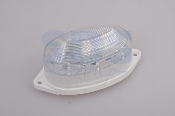 Лампа-строб накладная 30 LED красная runail лампа led 9 вт красная