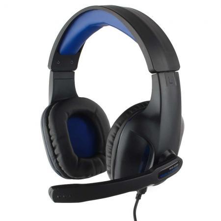 Игровая гарнитура проводная Gembird MHS-G205 черный игровая гарнитура проводная marvo h8319 черный