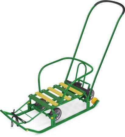 Санки Тимка 5 УНИВЕРСАЛ зеленый ника санки коляска ника тимка премиум малиновый