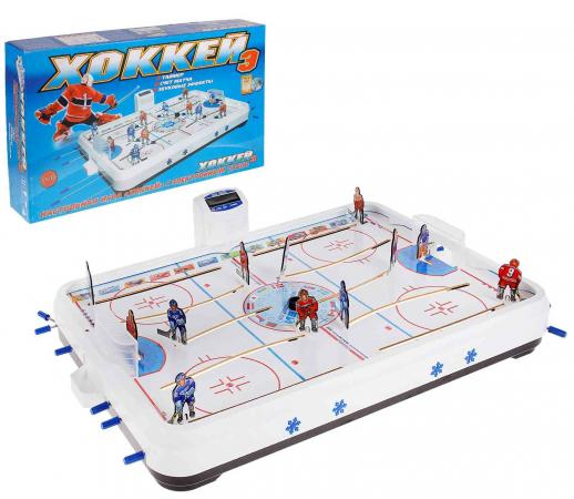 Настольная игра хоккей Спорт Тойз Хоккей-Э игра настольная хоккей