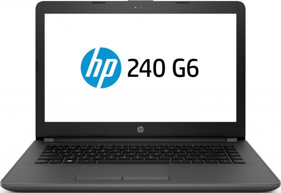 """HP 240 G6 Core i3-7020U 2.3GHz,14"""" HD (1366x768) AG,4Gb DDR4(1),500Gb 5400,DVDRW,31Wh,1.8kg,1y,Silver,DOS цена и фото"""