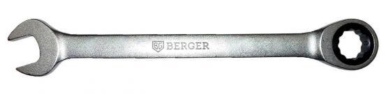 Ключ BERGER BG1100 трещоточный 13мм ключ трещоточный комбинированный berger 27 мм bg1108