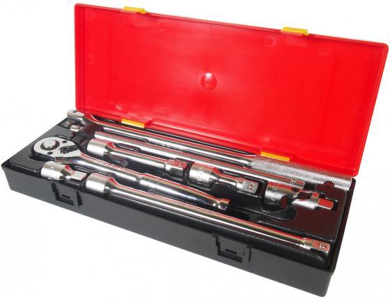 Набор инструментов JTC K4081 1/2 удлинители, воротки, трещотка в кейсе 8пр. набор слесарно монтажных инструментов в кейсе 5шт jtc k8051