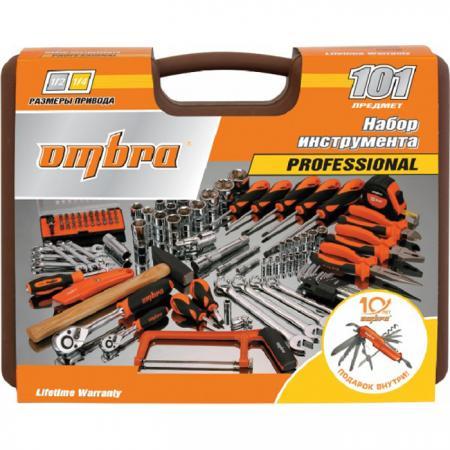Набор инструментов OMBRA OMT101S18 юбилейная серия универсальный 1/4 1/2dr 101предмет omt33s набор инструмента универсальный 1 2dr 33 предмета шт