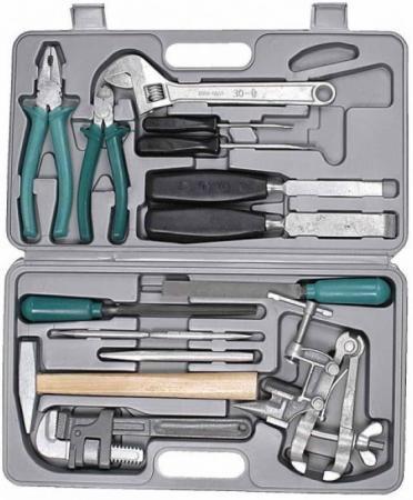 Набор слесарно-монтажного инструмента НИЗ ПРОГРЕСС 27622 сталь 40Х.в пласт кейсе.15 предметов набор инструмента в пластмассовом кейсе 26 шт fit it 65125