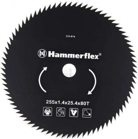 Нож для триммера Hammer Flex 223-014 закаленная сталь, круглый, 80 зубьев, толщина 1,4 мм, d=255 мм oringinal honeywell mk9520 lite grey stand