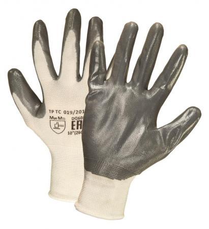 Перчатки МАНИПУЛА 7111 нейлоновые с нитриловым покрытием цена