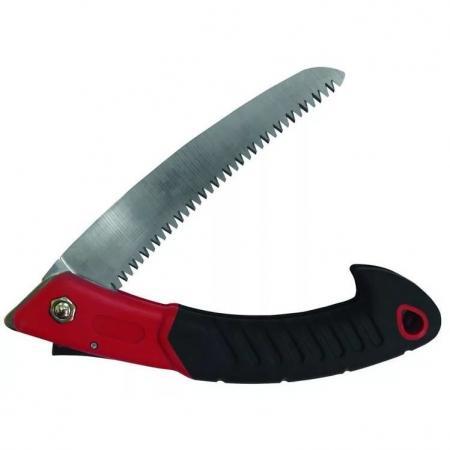 Ножовка FRUT 401145 садовая складная, нож 15см, прорезиненая рукоятка канистра складная frut 449001 3l